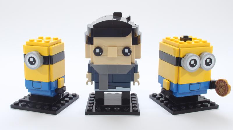 LEGO Minions BrickHeadz 40420 Gru Stuartand Otto Review Featured