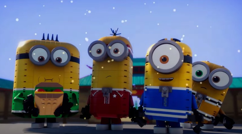 LEGO Minions Kung Fu Animation