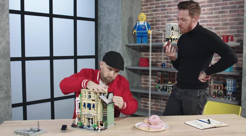 LEGO Modular 10278 Police Station Designer Video Featured 800x445