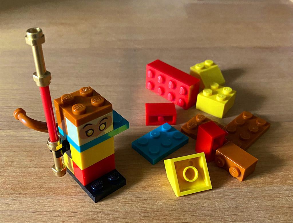 LEGO Monkie Kid 40474 Build Your Own Monkey King 2