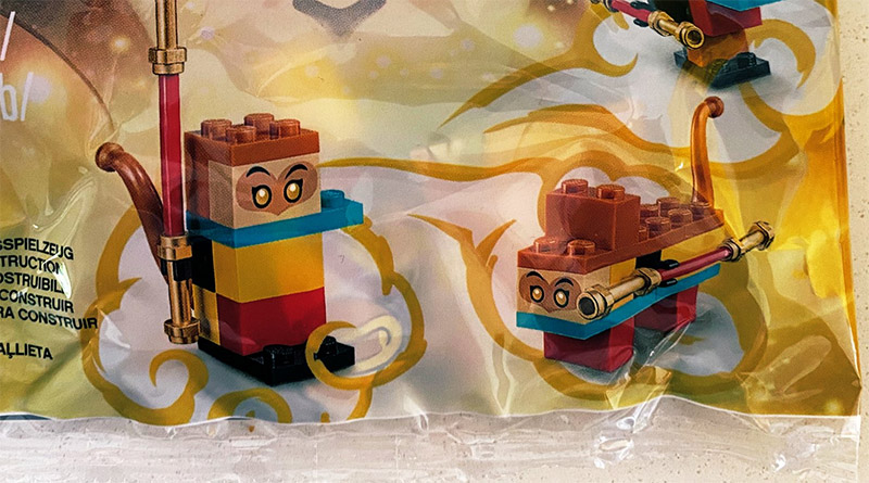 LEGO Monkie Kid 40474 Build Your Own Monkey King Featured
