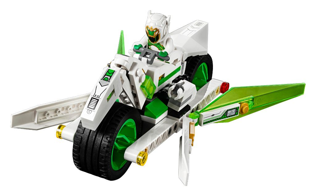 LEGO Monkie Kid 80006 White Dragon Horse Bike 1