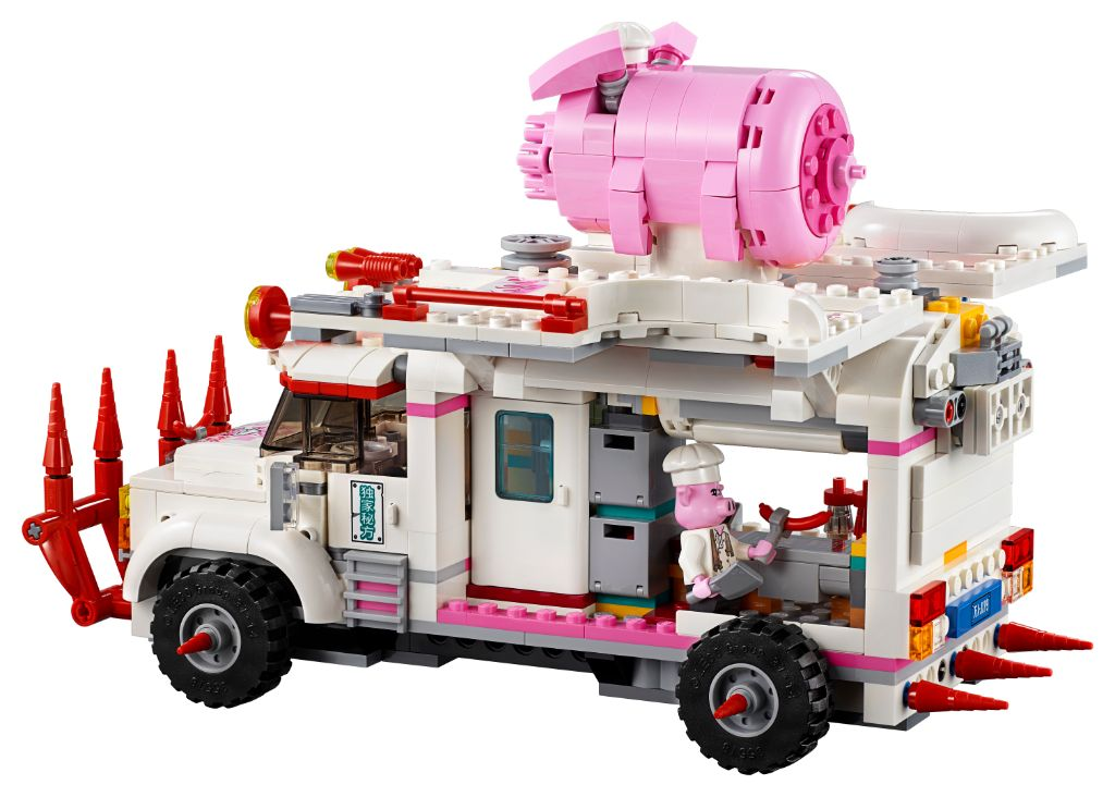 LEGO Monkie Kid 80009 Pigsys Food Truck 3