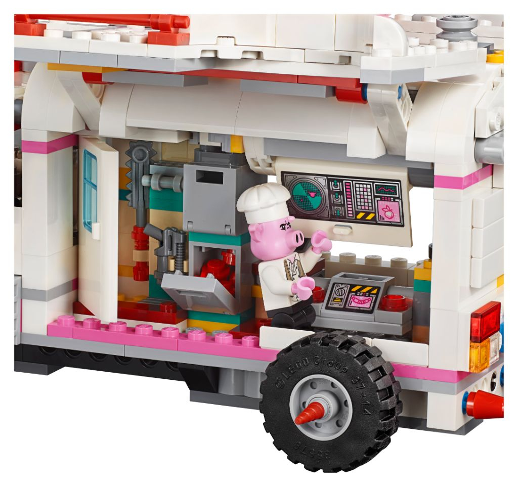 LEGO Monkie Kid 80009 Pigsys Food Truck 4