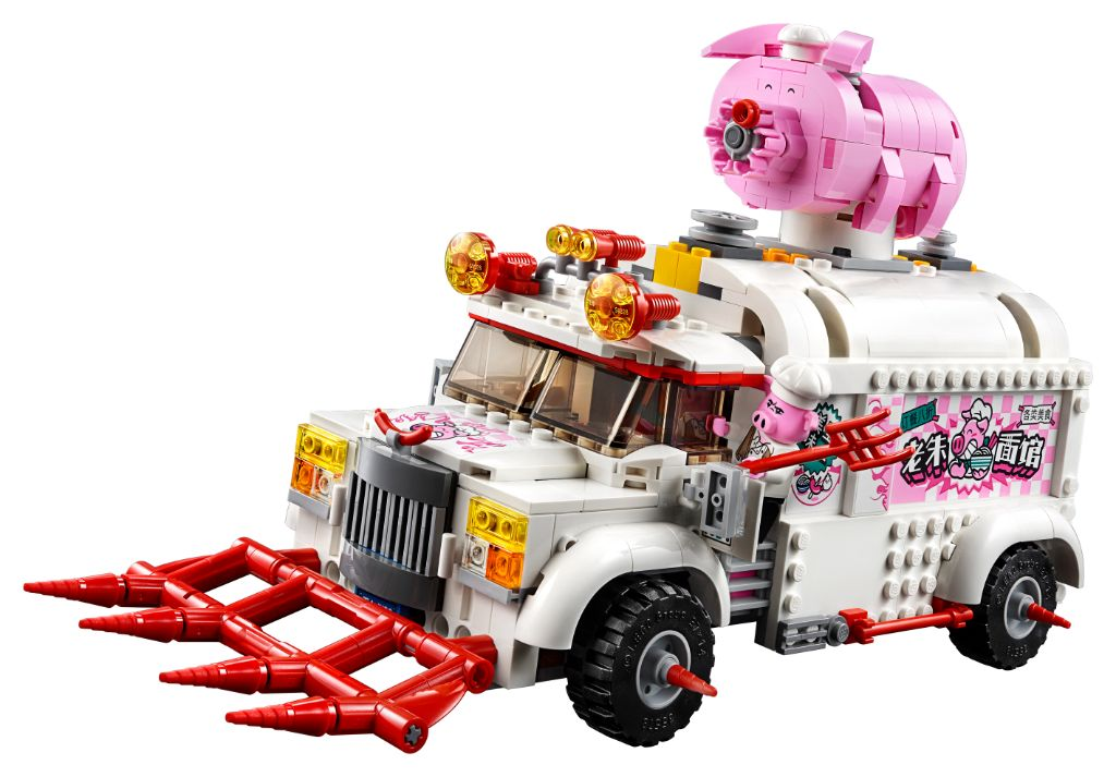 LEGO Monkie Kid 80009 Pigsys Food Truck 5