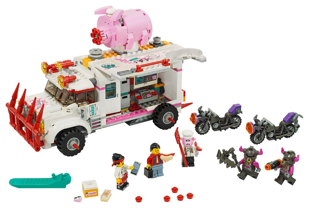 LEGO Monkie Kid 80009 Pigsys Food Truck 7