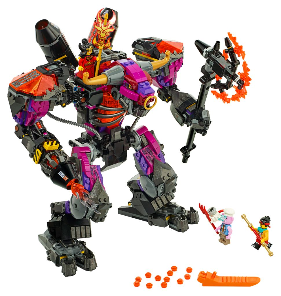 LEGO Monkie Kid 80010 Demon Bull King 3