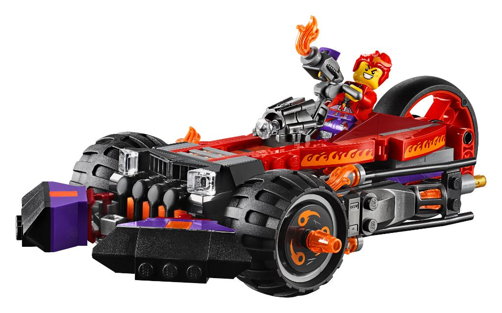 LEGO Monkie Kid 80011 Red Sons Inferno Truck 1