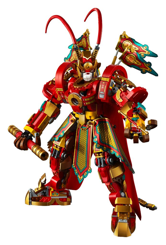 LEGO Monkie Kid 80012 Monkey King Warrior Mech 1