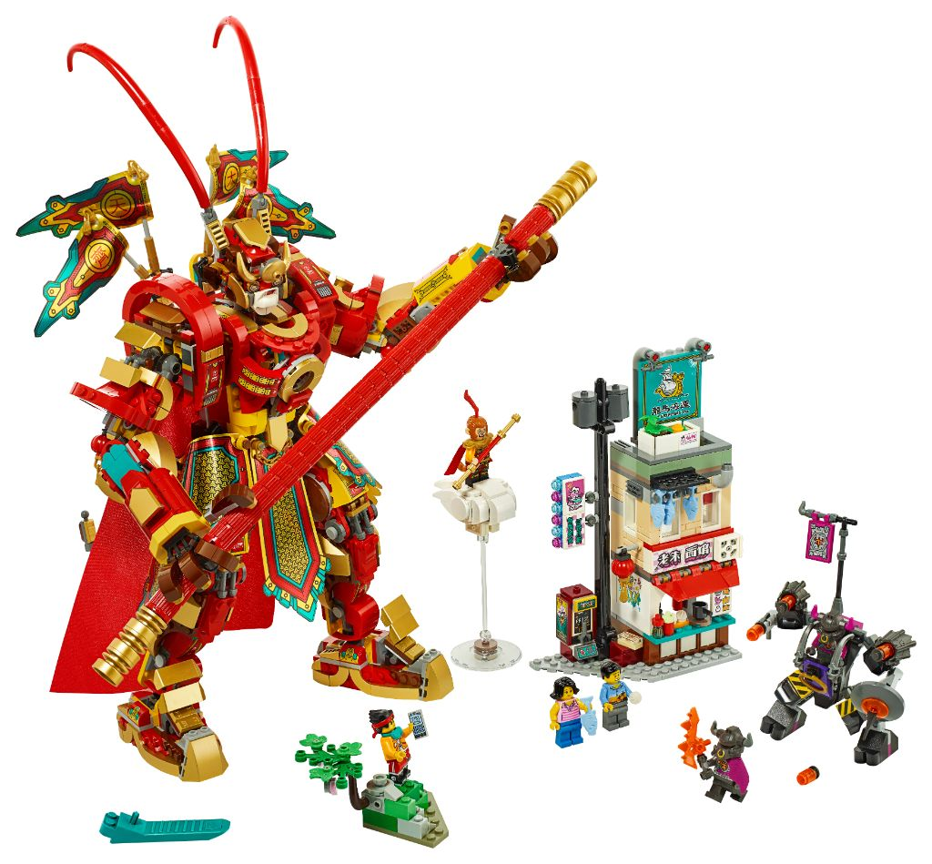LEGO Monkie Kid 80012 Monkey King Warrior Mech 8