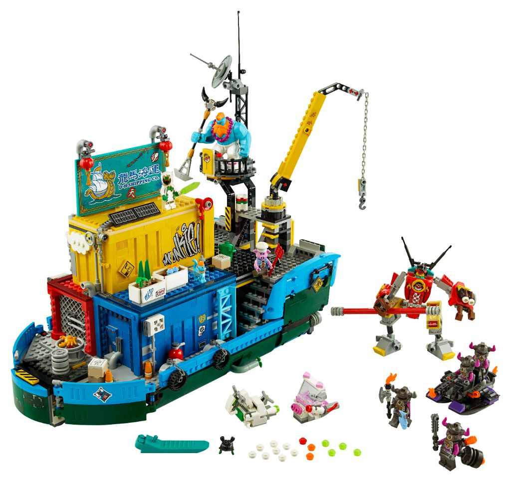 LEGO Monkie Kid 80013 Monkie Kids Team Secret HQ 10