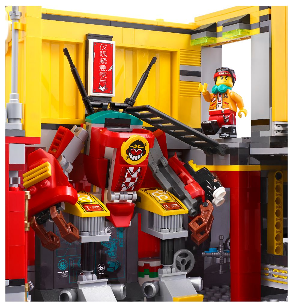 LEGO Monkie Kid 80013 Monkie Kids Team Secret HQ 2