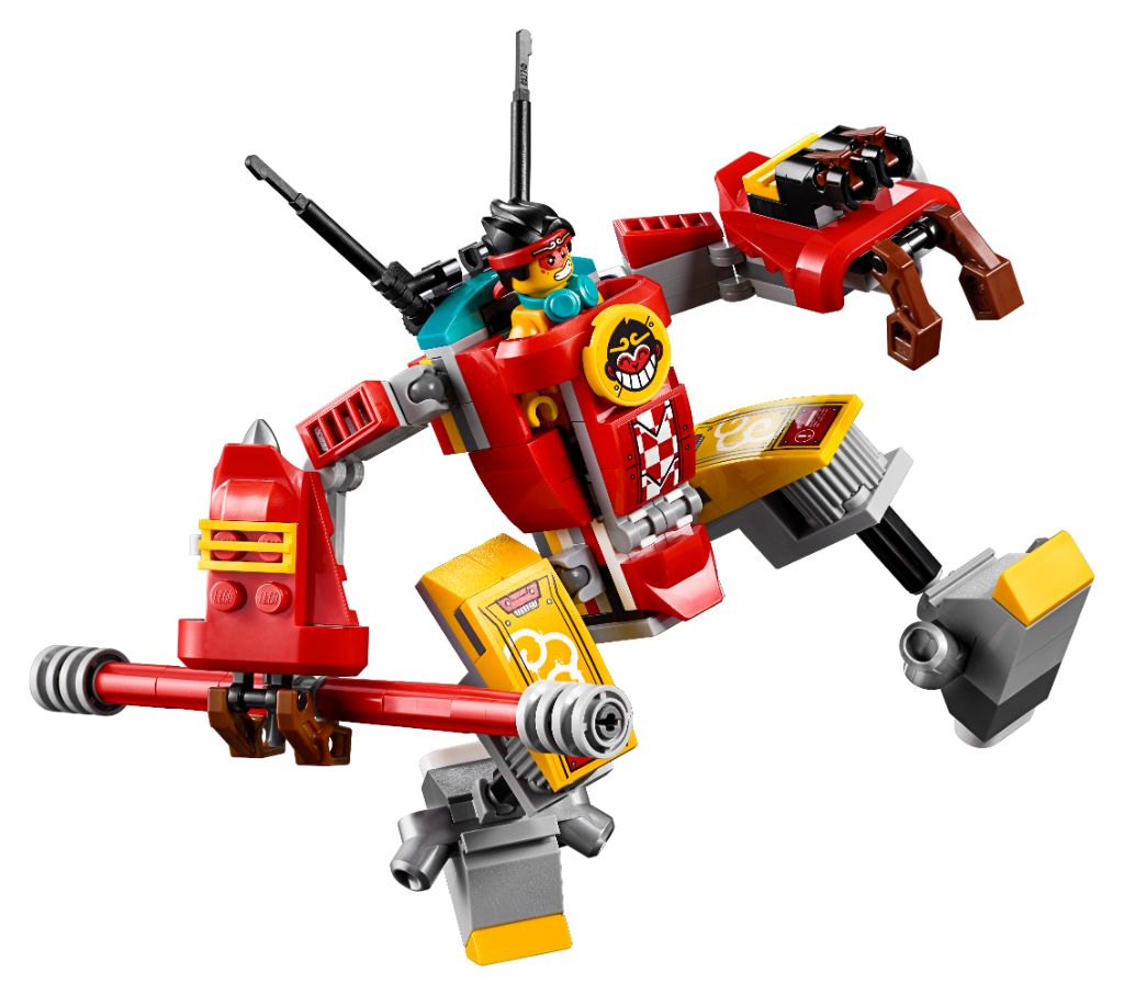LEGO Monkie Kid 80013 Monkie Kids Team Secret HQ 9