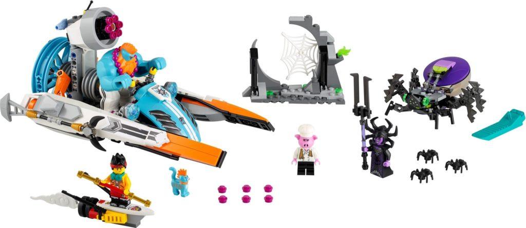 LEGO Monkie Kid 80014 Sandys Speedboat 1