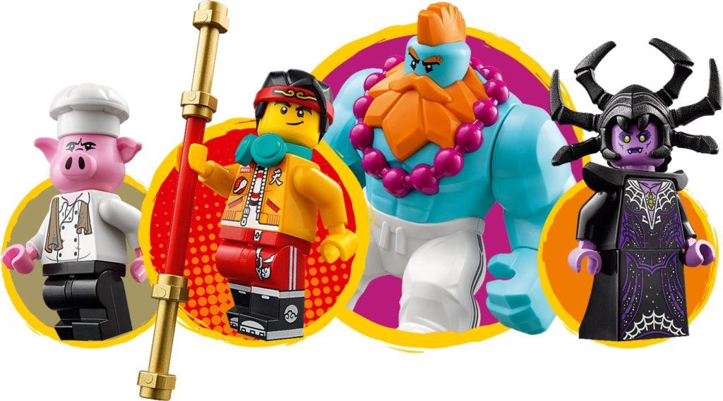 LEGO Monkie Kid 80014 Sandys Speedboat 10