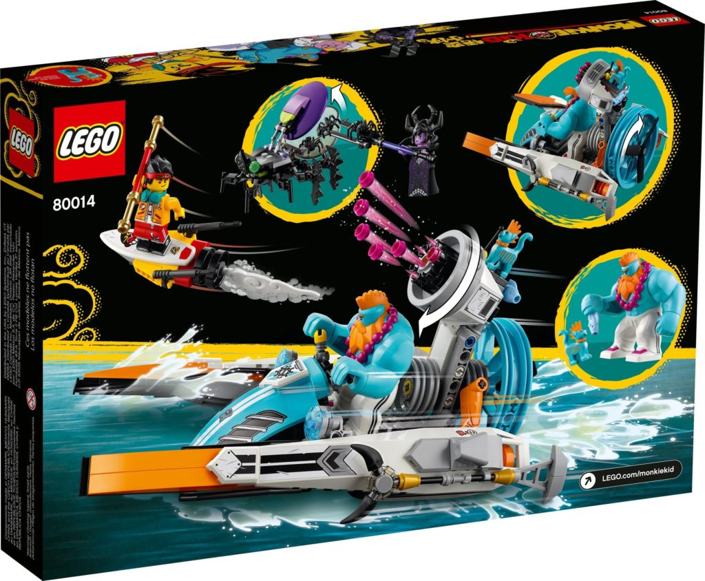 LEGO Monkie Kid 80014 Sandys Speedboat 11