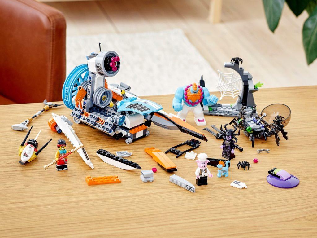 LEGO Monkie Kid 80014 Sandys Speedboat 12