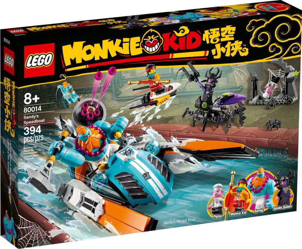 LEGO Monkie Kid 80014 Sandys Speedboat 2