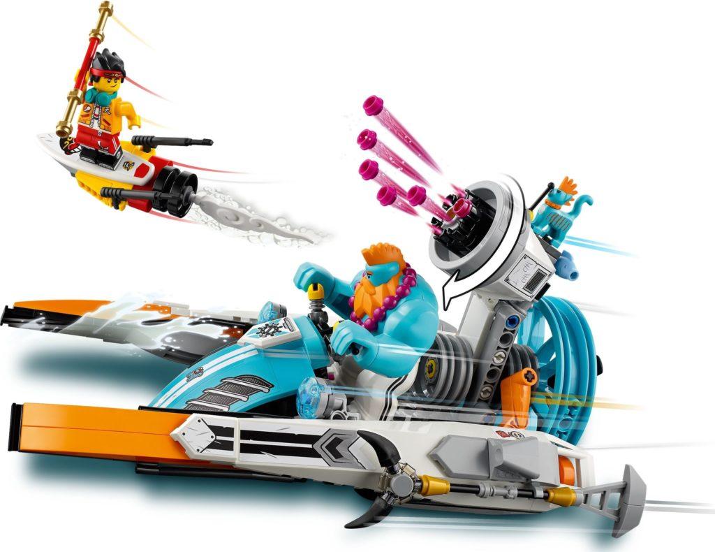 LEGO Monkie Kid 80014 Sandys Speedboat 6