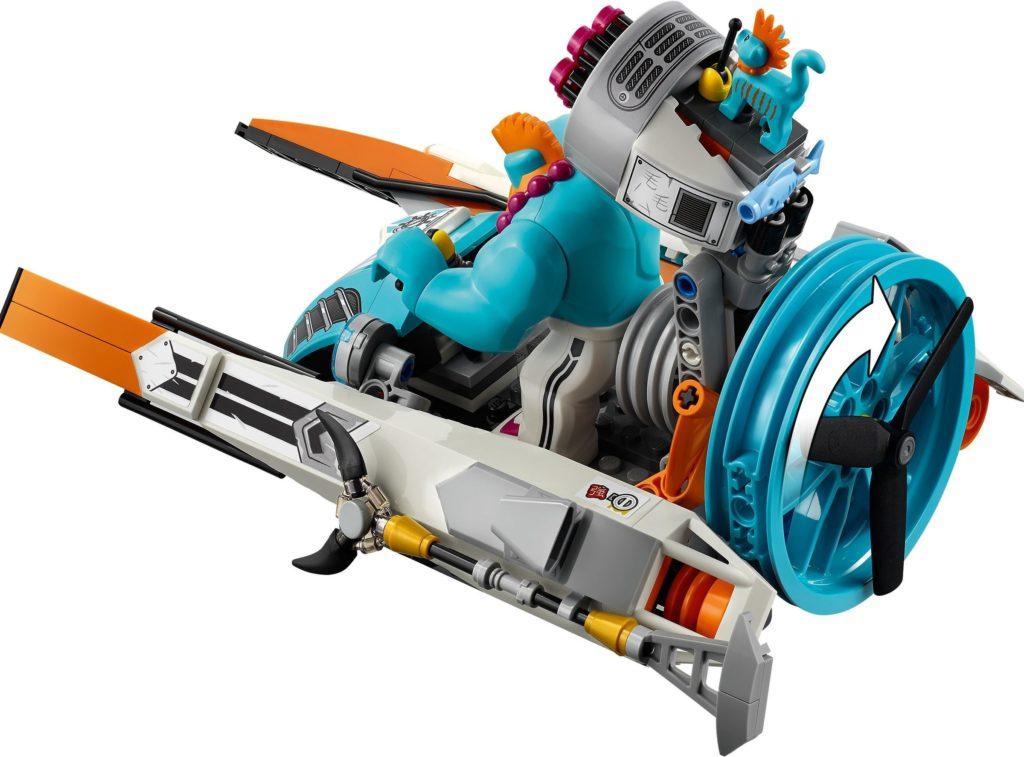 LEGO Monkie Kid 80014 Sandys Speedboat 8