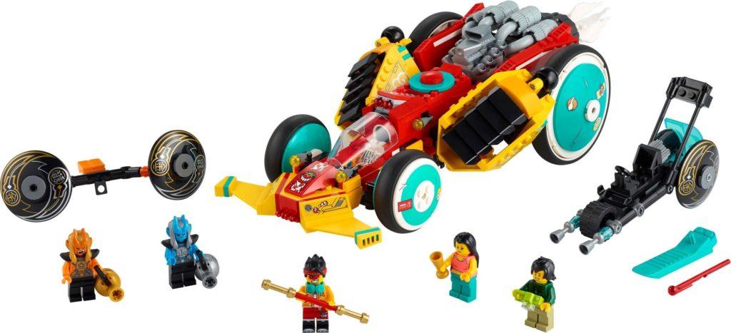 LEGO Monkie Kid 80015 Monkie Kids Cloud Roadster 1