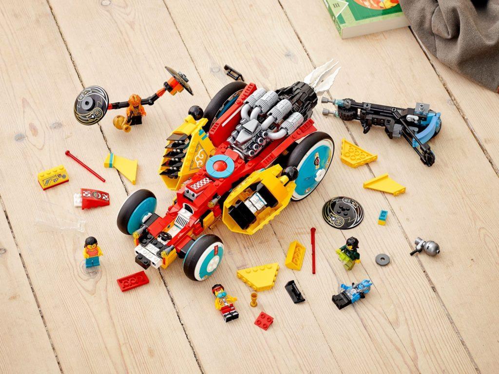 LEGO Monkie Kid 80015 Monkie Kids Cloud Roadster 10