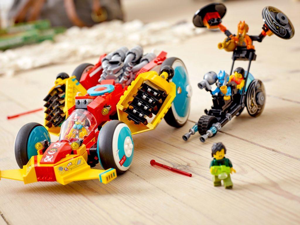 LEGO Monkie Kid 80015 Monkie Kids Cloud Roadster 11