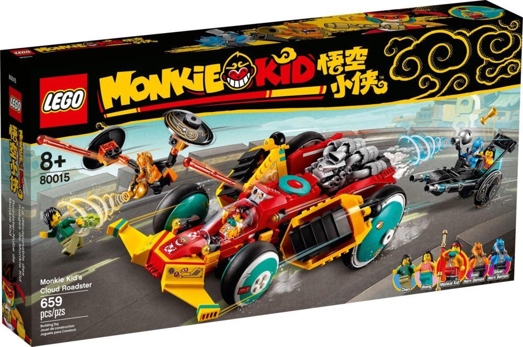 LEGO Monkie Kid 80015 Monkie Kids Cloud Roadster 2