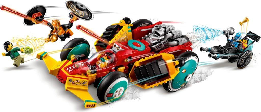 LEGO Monkie Kid 80015 Monkie Kids Cloud Roadster 4