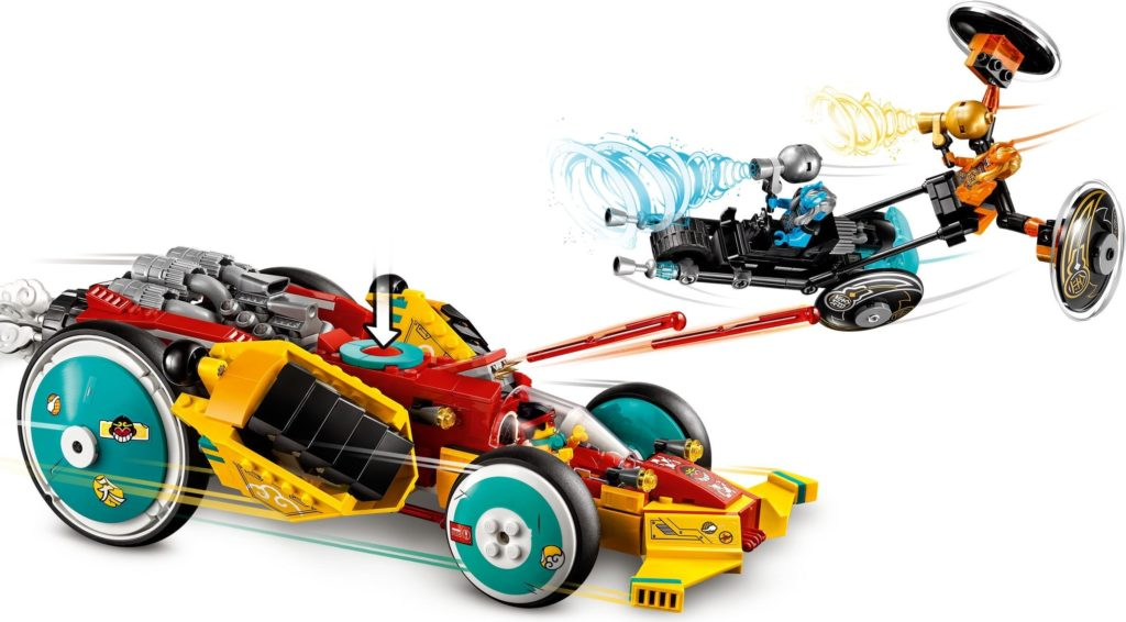 LEGO Monkie Kid 80015 Monkie Kids Cloud Roadster 5