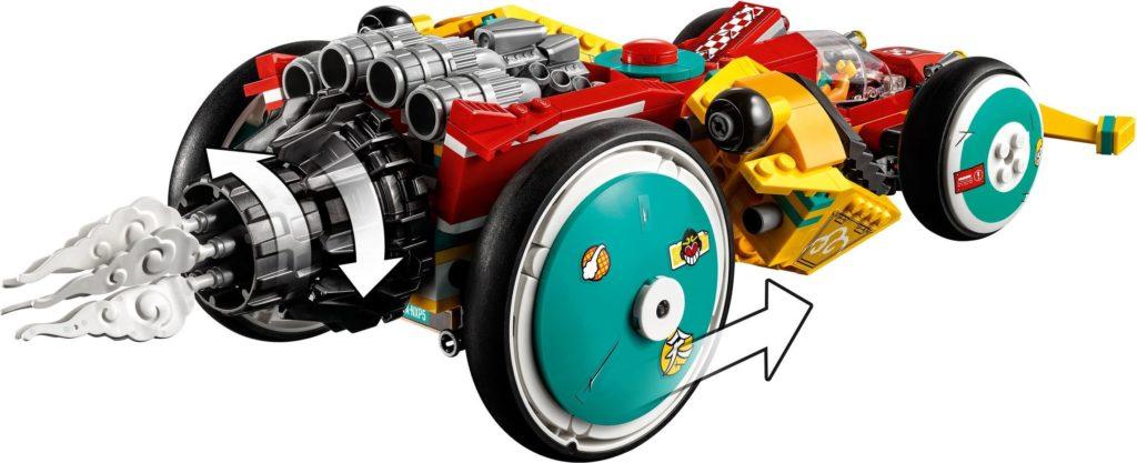 LEGO Monkie Kid 80015 Monkie Kids Cloud Roadster 6