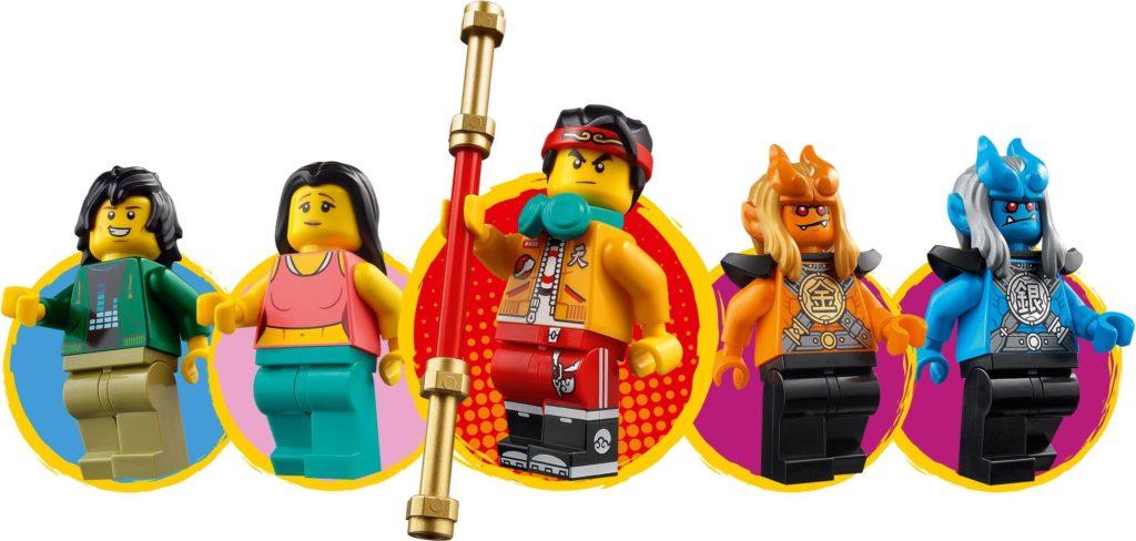 LEGO Monkie Kid 80015 Monkie Kids Cloud Roadster 8