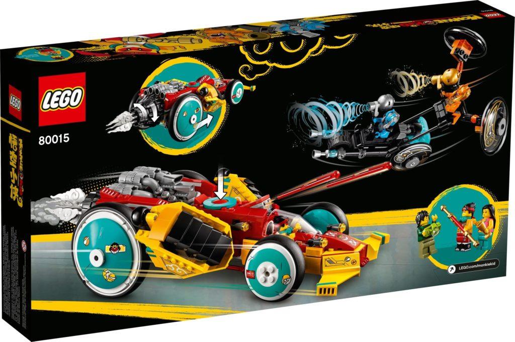LEGO Monkie Kid 80015 Monkie Kids Cloud Roadster 9