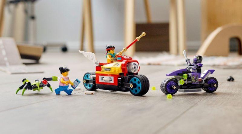 LEGO Monkie Kid 80018 Monkie Kids Cloud Bike featured