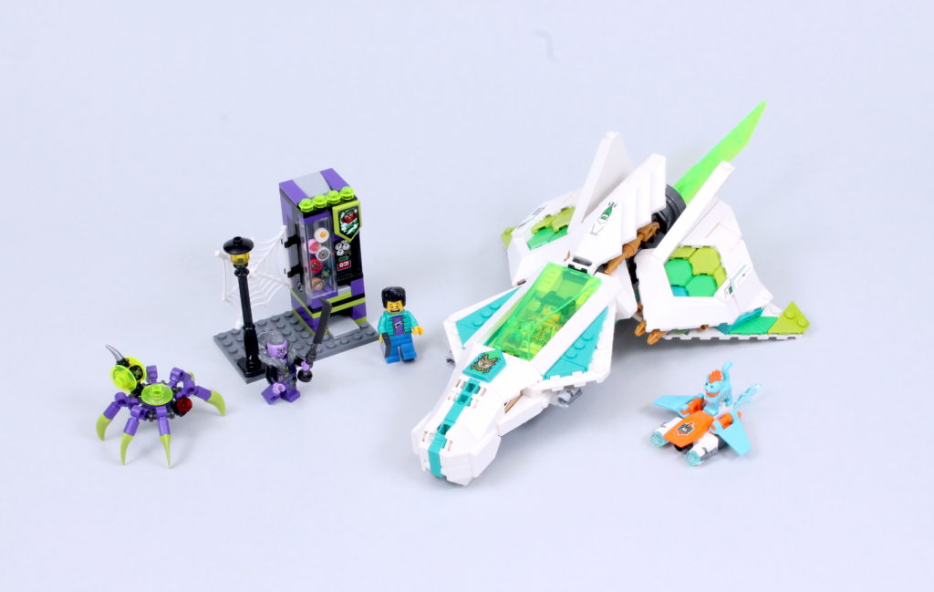 LEGO Monkie Kid 80020 White Dragon Horse Jet Review 1
