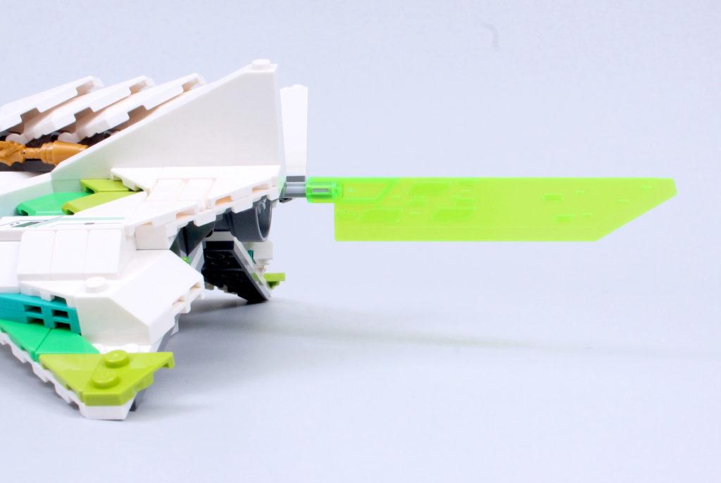 LEGO Monkie Kid 80020 White Dragon Horse Jet Review 10