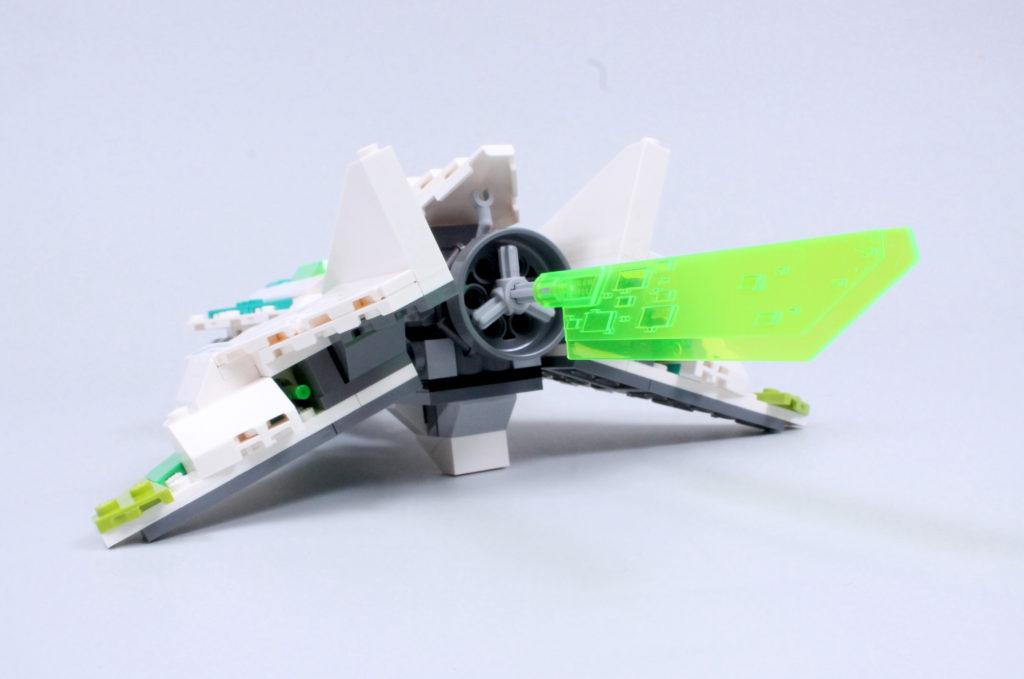 LEGO Monkie Kid 80020 White Dragon Horse Jet Review 11