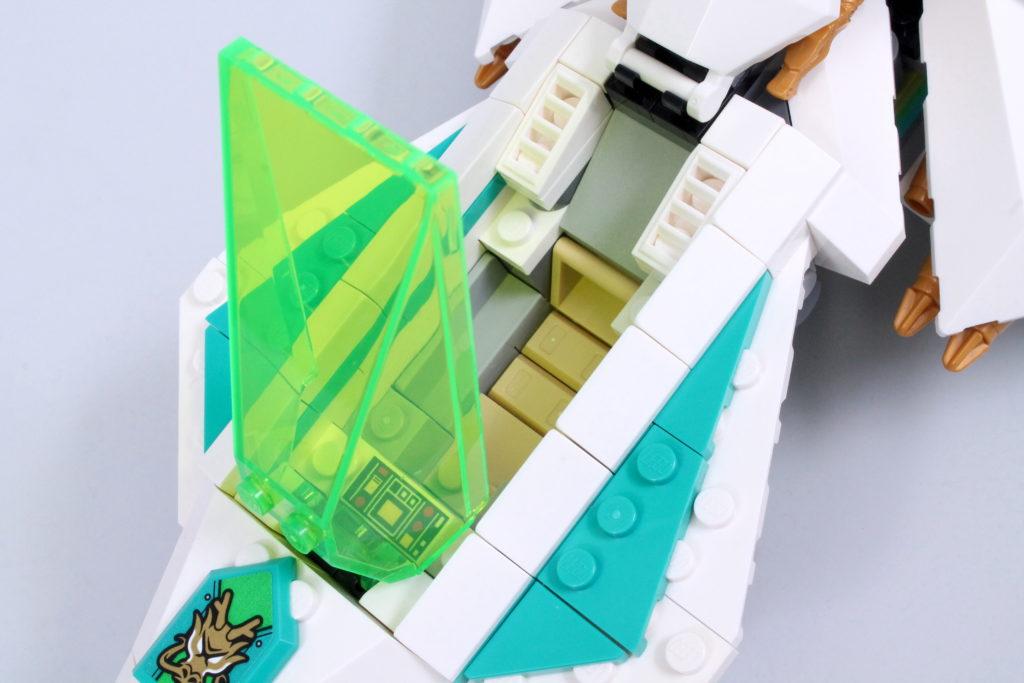 LEGO Monkie Kid 80020 White Dragon Horse Jet Review 14