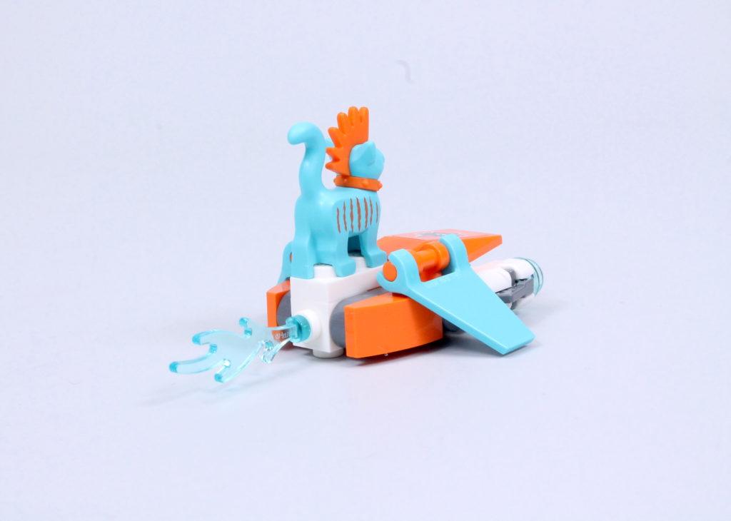 LEGO Monkie Kid 80020 White Dragon Horse Jet Review 19