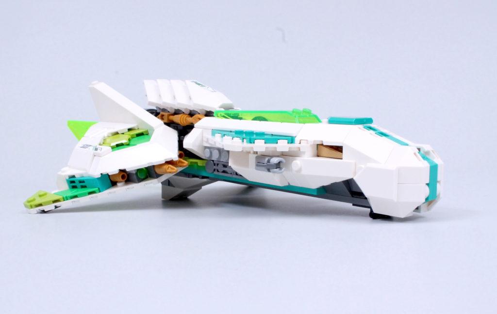 LEGO Monkie Kid 80020 White Dragon Horse Jet Review 2