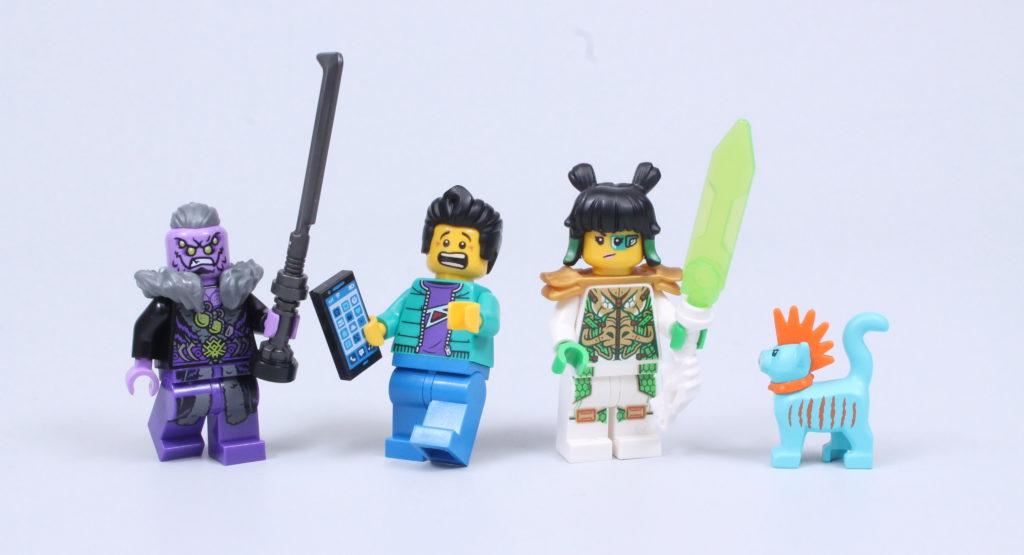 LEGO Monkie Kid 80020 White Dragon Horse Jet Review 29