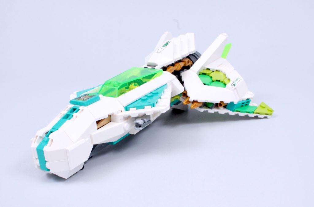 LEGO Monkie Kid 80020 White Dragon Horse Jet Review 3