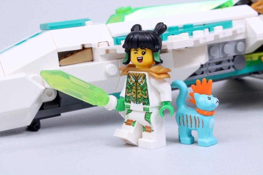 LEGO Monkie Kid 80020 White Dragon Horse Jet Review 33