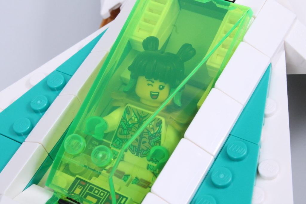 LEGO Monkie Kid 80020 White Dragon Horse Jet Review 34