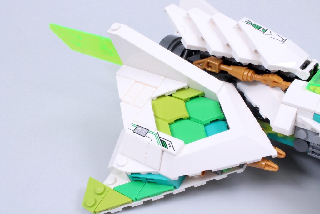 LEGO Monkie Kid 80020 White Dragon Horse Jet Review 5