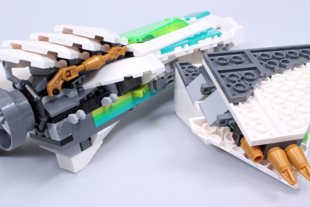 LEGO Monkie Kid 80020 White Dragon Horse Jet Review 9