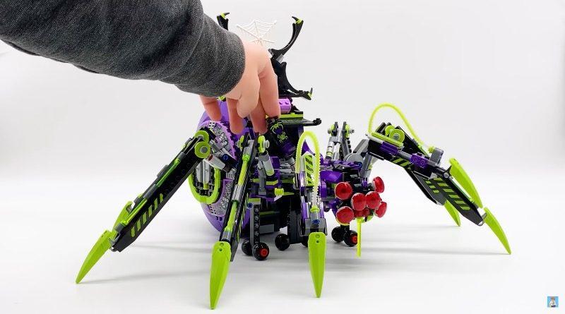 LEGO Monkie Kid 80022 Spider Queens Arachnoid Base First Look Featured 800x445