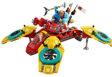 The price for LEGO 80023 Monkie Kid's Team Dronecopter has been revealed