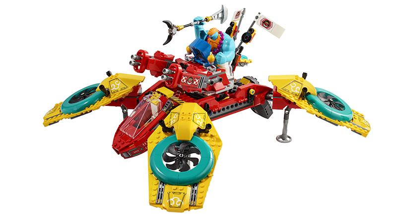 LEGO Monkie Kid 80023 Monkie Kids Team Quadcopter Featured