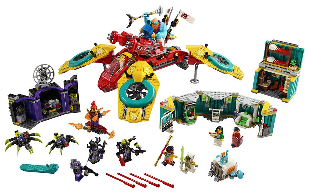 LEGO Monkie Kid 80023 Monkie Kids Team Quadcopter